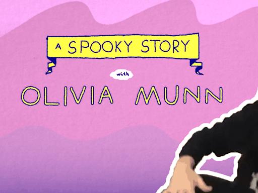 Olivia Munn tells a spooky ghost story