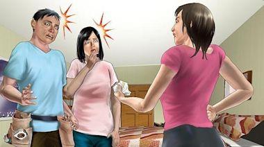人妻挺7月肚捉姦 夫急跳窗!她卻因這理由告不成小三 | 蘋果新聞網 | 蘋果日報