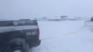 Farmer Pulls Police Vehicle From Snow During Blizzard in North Dakota