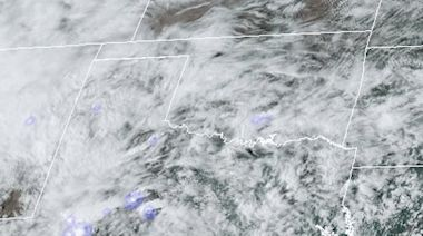 NOAA Satellite Shows Tornadic Thunderstorm Activity Over Texas
