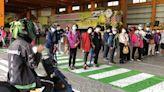 竹市監理站攜手企業宣導交通安全 教導高齡用路人應變