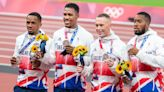 Team GB set to be stripped of Tokyo 2020 4x100m medal after positive drugs test