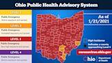 Lorain County avoids purple as Ohio's coronavirus alert map is unchanged from last week - mostly red