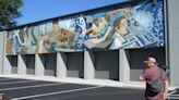 New mural complete; depicts Oak Ridge story