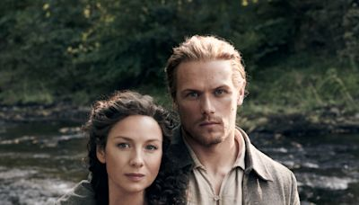 Caitriona Balfe and Sam Heughan Film Special 'Outlander' Music Episode Plus Spill Details About New Project