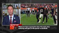 Pelissero details Browns' injuries to Kareem Hunt, Baker Mayfield after Week 6