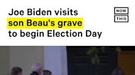 Joe Biden Begins Election Day by Visiting Son's Grave