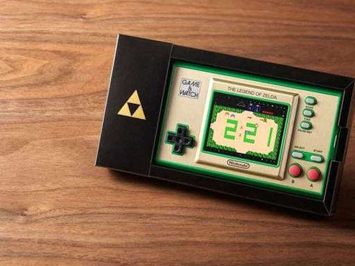 Nintendo's Zelda Game & Watch is More Elusive Than the PS5: Here's Where You Can Pre-Order