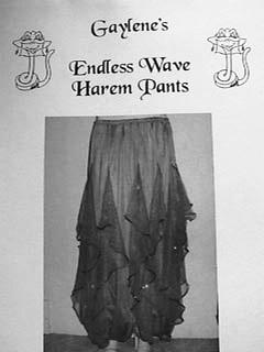 Belly Dance Pattern ~ Endless Wave Harem Pants Pattern by Gaylene ...
