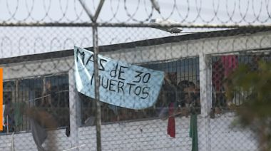 Large riot breaks out in a Colombia prison, leaving 23 inmates dead