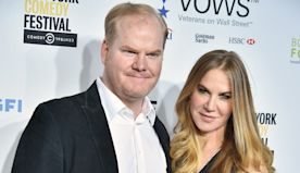 Jim Gaffigan and his wife are trying to feed New York's front line