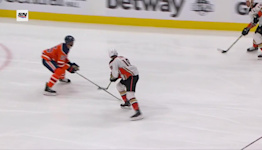 Nicolas Deslauriers with a Goal vs. Edmonton Oilers