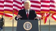 Trump's sendoff: 'We will be back in some form'