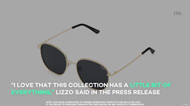 "Lizzo and Quay collaborated on theses sunglasses with a whole lot of ""juice"""
