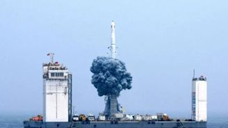 Blast Off! Satellite Captures Footage of Chinese Rocket Launch at Sea