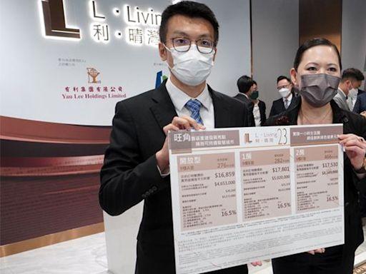 利•晴灣23 最平465萬 首批呎價1.89萬 較千望低逾一成 | 蘋果日報