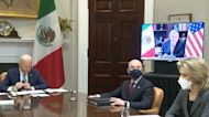 Biden meets virtually with Mexican president as border apprehensions spike