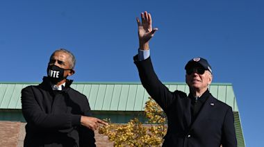 Watch Live: Biden and Obama rally supporters in Michigan