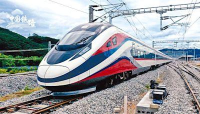 中老鐵路12月通車 「瀾滄號」運抵萬象