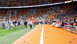 Tennessee fined $250,000 from SEC revenue distribution after fans trash field during Ole Miss game