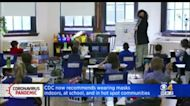 CDC Recommends Masks In K-12 Schools, High Risk Areas