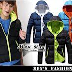 【Men Star】免運費 韓版連帽鋪棉外套 / 羽絨外套 輕羽絨 鋪棉外套 媲美 UNIQLO STAGE LATIV