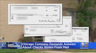 Chicago Company Demands Answers About Checks Stolen From Mail
