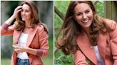 Duchess Catherine officially waves goodbye to her signature skinny jeans and steps out in a NEW pair of denims