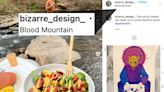 Brian Laundrie tagged 'Blood Mountain' on Instagram as art showed bloody scenes
