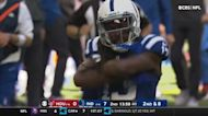Every T.Y. Hilton catch in his return to action Week 6