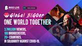 Bigo Live線上音樂籌款活動成功募得10萬美元