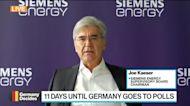 Germany Needs 10-Year Business Plan, Siemens Energy's Kaeser Says