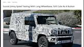 Suzuki 長軸版 Jimny 車身尺碼曝光,乘坐空間明顯提升! - 自由電子報汽車頻道