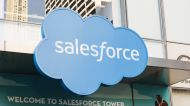 Salesforce lower after reporting earnings