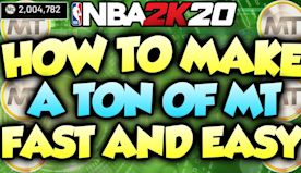 *NEW* MT METHOD TO MAKE A TON OF MT FAST AND EASY IN NBA 2K20 MYTEAM