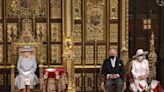 Queen Elizabeth Opens Parliament with Prince Charles and Camilla by Her Side