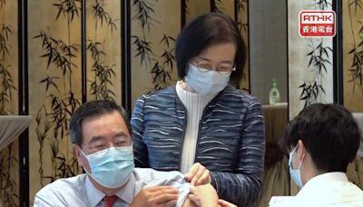 多名立法會議員接種流感疫苗 梁君彥籲市民盡快接種 - RTHK
