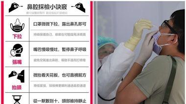 「鼻腔篩檢小訣竅」來了! 醫製一張圖教你緩解不適