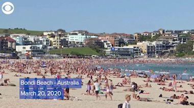 WEB EXTRA: Australia's Bondi Beach Before And After Coronavirus Restrictions