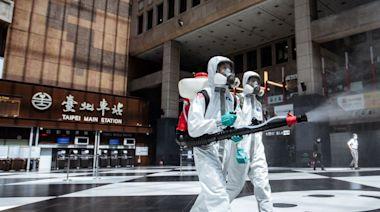 北車爆發群聚感染 化學兵協助車站周邊消毒 | 要聞 | NOWnews今日新聞