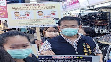 中市勞工局加強防疫宣導 移工感謝:台灣相對安全