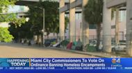 Miami Commissioners Expected To Vote On Ordinance Banning Homeless Encampments