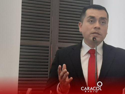 Danilo Eduardo Fernández Becerra se posesionó como concejal de Manizales