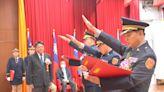 潘孟安主持屏東縣警察局主秘與三位新任分局長布達