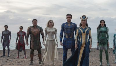Review: Marvel's overstuffed'Eternals' is a star-studded exercise in superhero excess