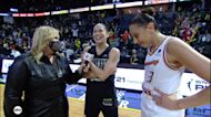 Fans chant 'one more year' for WNBA legend Sue Bird after playoff loss