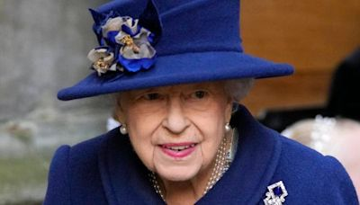 The Queen has been seen using a walking stick for first time in 20 years
