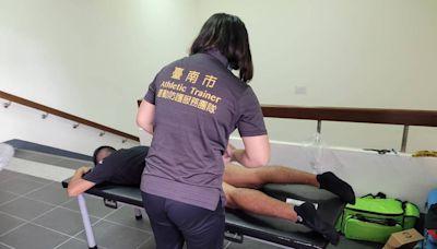 全運會/成大運動傷害防護團超給力 台南穿金戴銀的利器