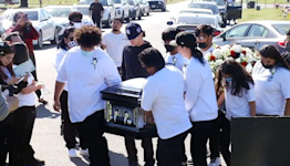 Loved ones say goodbye to Fresno teen killed in alleged DUI crash