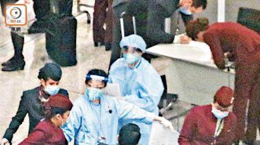 機場員工高風險 應仿內地 一周兩檢